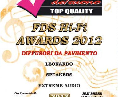 Leonardo, FDS Awards 2012